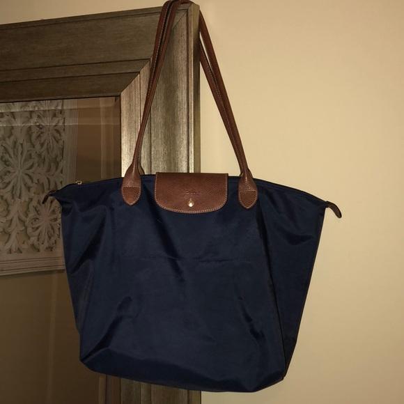 91fa836112db Longchamp Handbags - Longchamp Le Pliage Large Nylon Shoulder Tote
